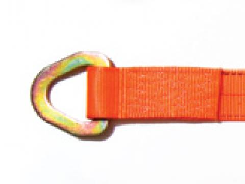 Winch Strap With Delta Ring