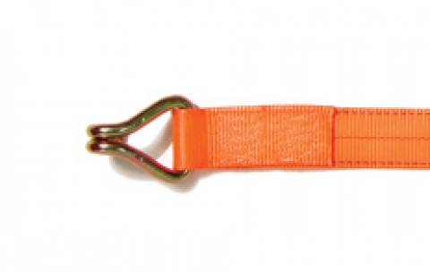 Winch Strap With J-hook