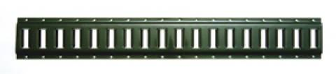 6200-10 Horizontal E Track Painted 10ft Section