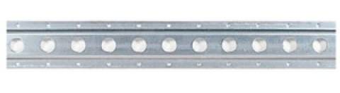 6300-10 Galvanized F Track 10ft Section