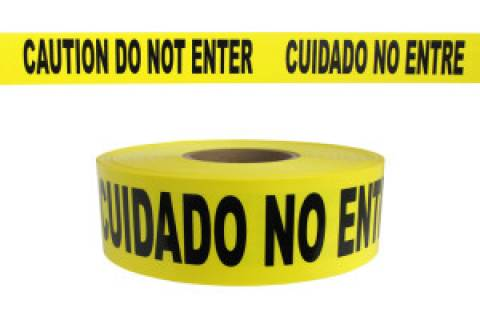 Caution / Do Not Enter Tape