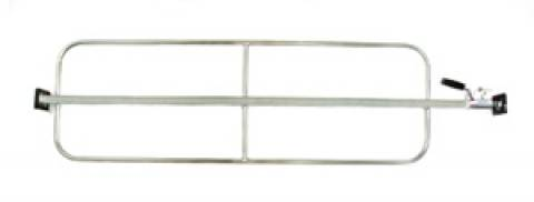 MB-809 - Heavy Duty One Piece Load Bar with Weld-On Hoops