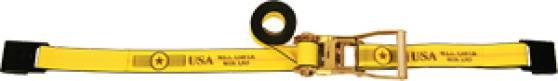 "2"" Long Wide Handle Ratchet Strap - Flat Hooks"