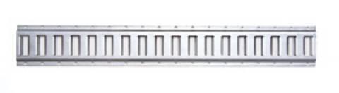 6201-10 Horizontal E Track Galvanized 10ft Section