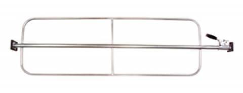 EM-809 - Medium Duty One Piece Load Bar with Weld-On Hoops
