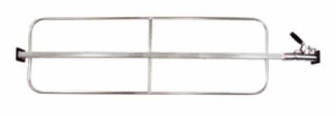 PR-809S - Heavy Duty Pressure Release Load Bar with Weld-On Hoops