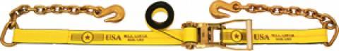 "2"" Long Wide Handle Ratchet Strap - Chain Extensions"