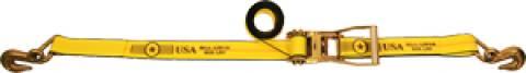 "2"" Long Wide Handle Ratchet Strap - Grab Hooks"